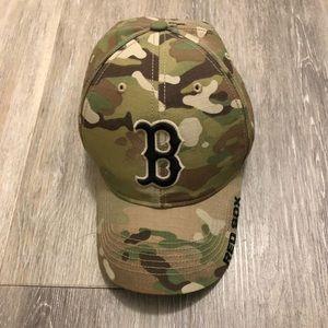 Accessories - Camo Boston Red Sox hat